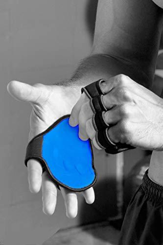 Fingerless Workout Gloves - The OG Alternative to Gym Gloves - Genuine Leather w 4 Finger Loop Sweat...