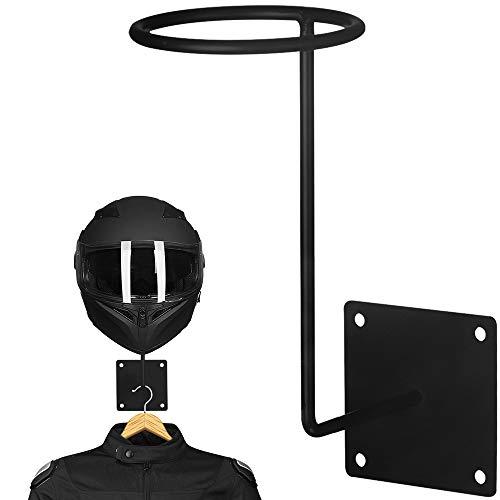 ILM Motorcycle Accessories Helmet Stand Holder Hanger Rack Jacket Hook