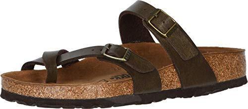 BIRKENSTOCK Women's Mayari Sandal, Golden Brown, 38 R EU, 7-7.5 M US