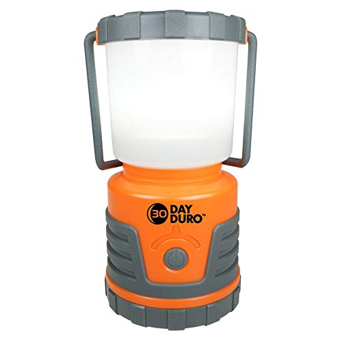 UST 30-DAY Duro LED Portable 700 Lumen Lantern with Lifetime LED Bulbs and Hook for Camping, Hiking,...