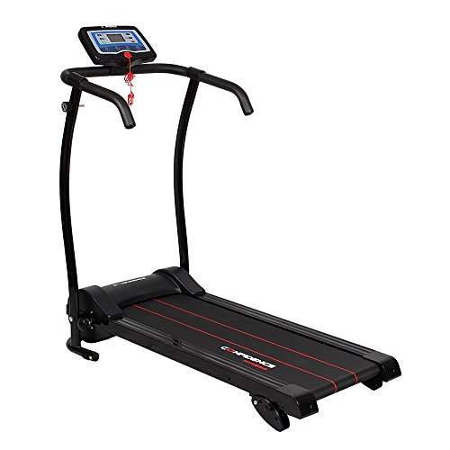 Confidence Fitness Power Trac Treadmill Black