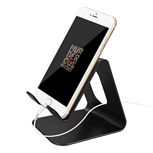esonstyle Desktop Cell Phone Stand: Portable Aluminum Smartphone Holder Cellphone Cradle Universal...