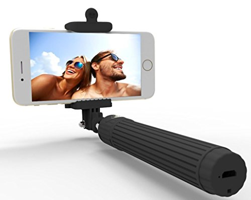 Selfie stick, Kiwii monopod, Extendable Selfie Stick w/ Adjustable Phone Holder for iPhone 6/ 6...