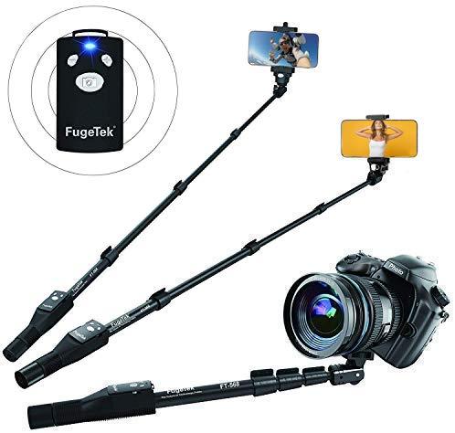 Fugetek 49' Selfie Stick Monopod Professional High End FT-568, For Apple iPhone, Android Samsung, &...