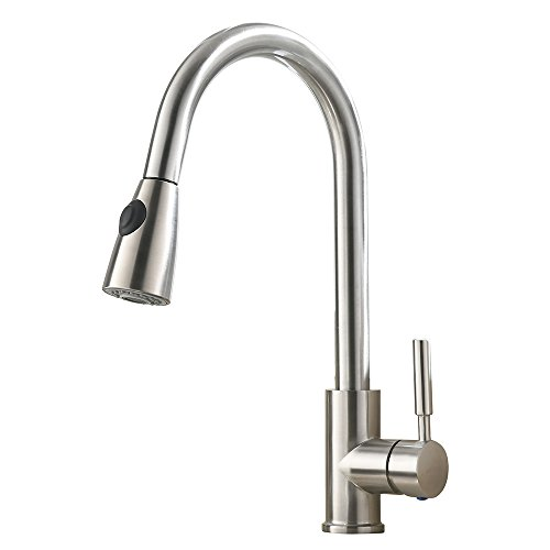Top 10 Best Pull Down Kitchen Faucets Of 2018 Review