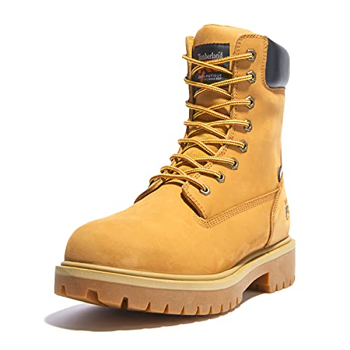 Timberland PRO Men's Direct Attach 8' Steel Toe Boot,Wheat,10.5 M