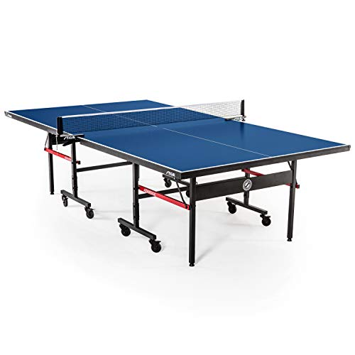 STIGA Advantage Competition-Ready Indoor Table Tennis Table 95% Preassembled Out of the Box with...