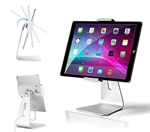 AboveTEK Elegant Tablet Stand, Aluminum iPad Stand Holder, Desktop Kiosk POS Stand for 7-13 inch...
