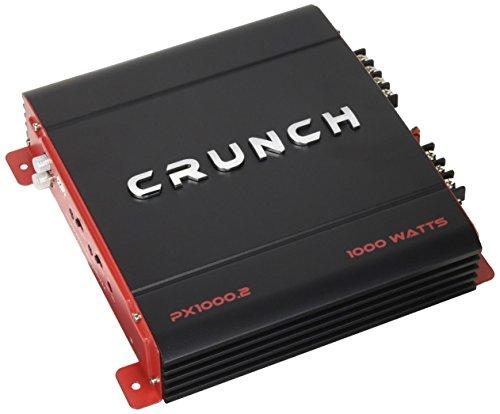 Crunch PX 1000.2 Power Amplifier (Class Ab, 2 Channels, 1,000 Watts Max)