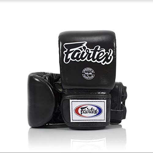 Fairtex Muay Thai Bag Gloves TGO3 TGT7 Color: Black Red Blue White Yellow Size: Medium Large...