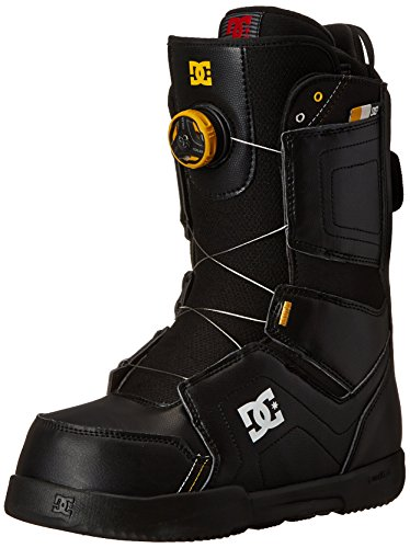 DC Men's Scout Snowboard Boot, Black, 10D