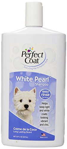 Perfect Coat White Pearl Shampoo for Dogs, 32-Ounce