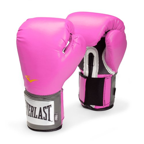 Everlast Women's Pro Style Training Gloves, Pink - 8 oz.