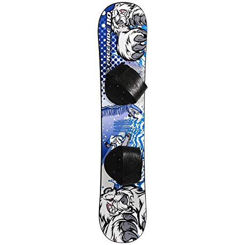 Freeride 110 Beginner Level 2 Snowboard 1069T - Fit for Rider up to 95lbs by Emsco