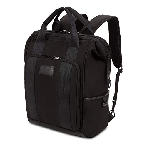 SWISSGEAR 3577 Laptop Backpack | Fits Most 15 Inch Laptop and Tablet | Doctor Bag | Tote Bag | Men's...