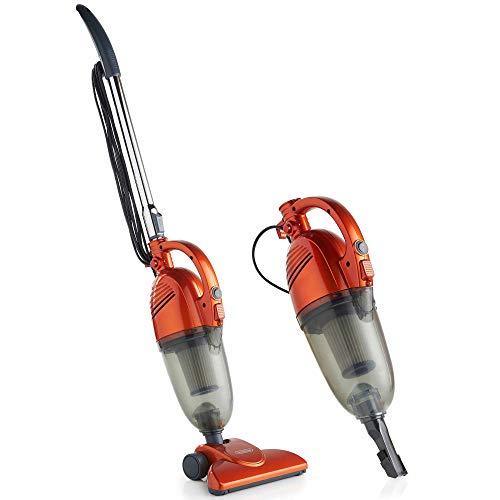 VonHaus 2 in 1 Stick & Handheld Vacuum Cleaner - 600W Corded Upright Vac with Lightweight Design,...