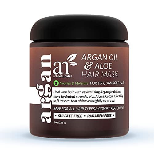 artnaturals Argan Hair Mask Conditioner - (8 Oz/226g) - Deep Conditioning Treatment - Organic Jojoba...