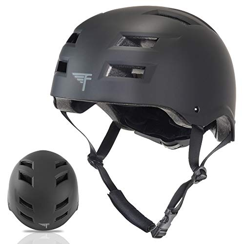 Flybar Skateboard Helmet- Dual Certified CPSC Multi-Sport Impact Protection for Youth and Adults for...