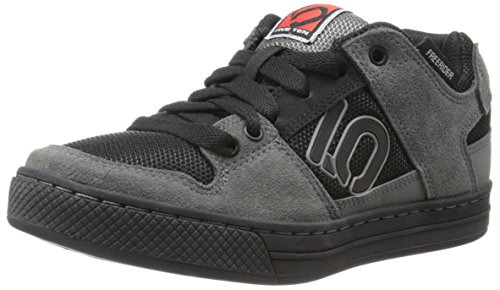 Five Ten Men's Freerider Bike Shoe,Grey/Black,4 D US