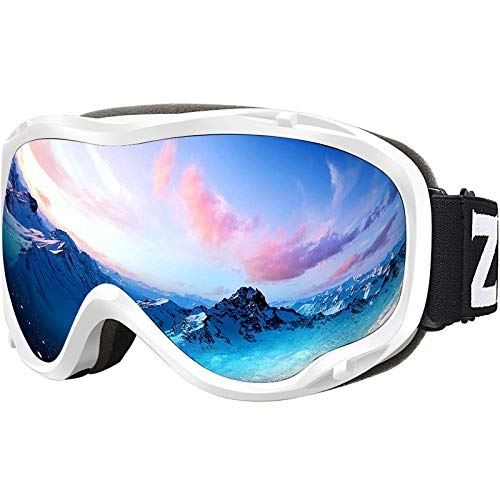 ZIONOR Lagopus Ski Snowboard Goggles UV Protection Anti Fog Snow Goggles for Men Women Adult Youth...
