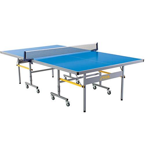 STIGA XTR Professional Table Tennis Tables – All Weather Aluminum Waterproof Indoor/Outdoor Design...