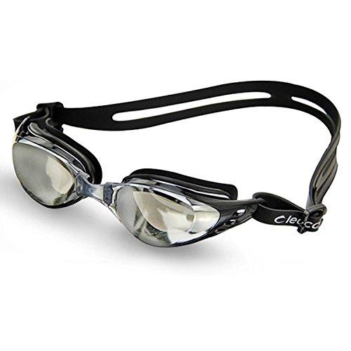 Foxnovo Leacco Dl603 Adjustable Unisex Adult Non Fogging Anti-uv Swimming Goggles Swim Glasses (2014...