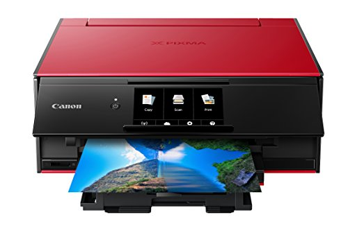 Canon TS9120 Wireless All-In-One Printer with Scanner and Copier: Mobile and Tablet Printing, with...