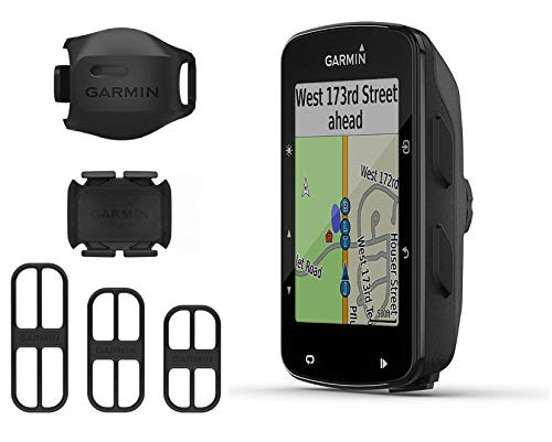 Garmin Edge 520 Plus GPS Cycling Computer and Garmin Bike Speed Sensor and Cadence Sensor 2nd Gen...
