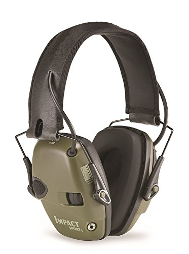 Howard Leight by Honeywell Impact Sport Sound Amplification Electronic Shooting Earmuff, Classic...