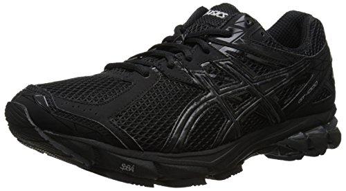 ASICS Men's GT-1000 3 2E Running Shoe,Black/Onyx/Lightning,12 2E