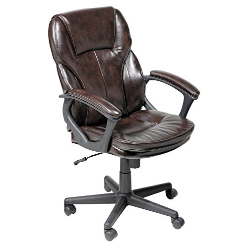Serta Manager Office Chair, Ergonomic Computer Chair with Layered Body Pillows, Contoured Lumbar...