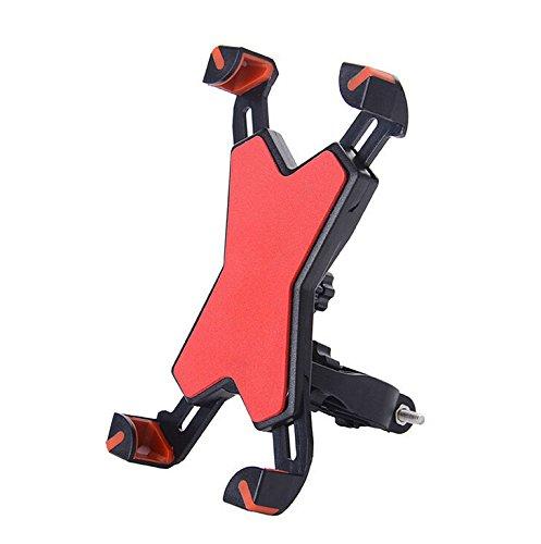XDOBO Universal Bike Phone Holder, Bicycle/Motorcycle Cell Phone Flexible Handlebar, Universal...