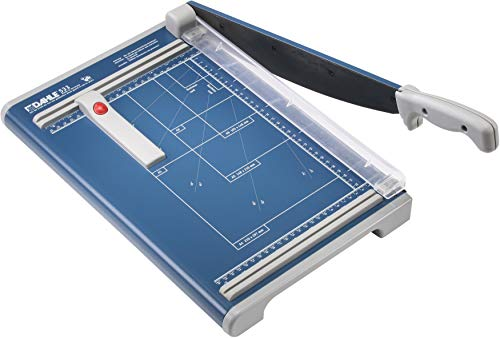 Dahle - 00533-21261 533 Professional Guillotine Trimmer, 13-3/8' Cut Length, 15 Sheet Capacity,...