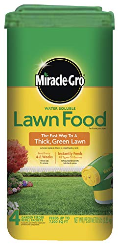 Miracle-Gro 1001834 Water Soluble 5 lbs Lawn Food