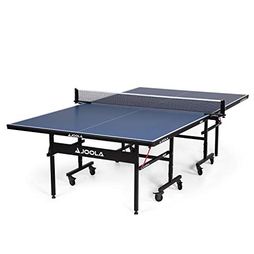JOOLA Inside - Professional MDF Indoor Table Tennis Table with Quick Clamp Ping Pong Net and Post...