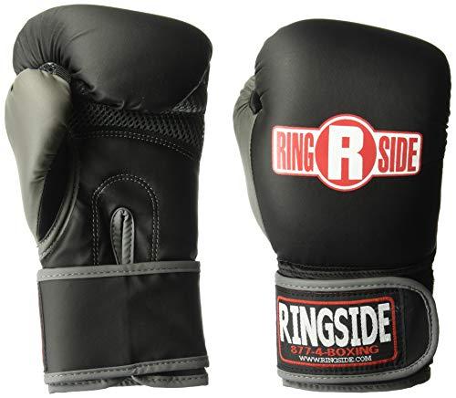 Ringside Synthetic Bag Gloves, Large, Black