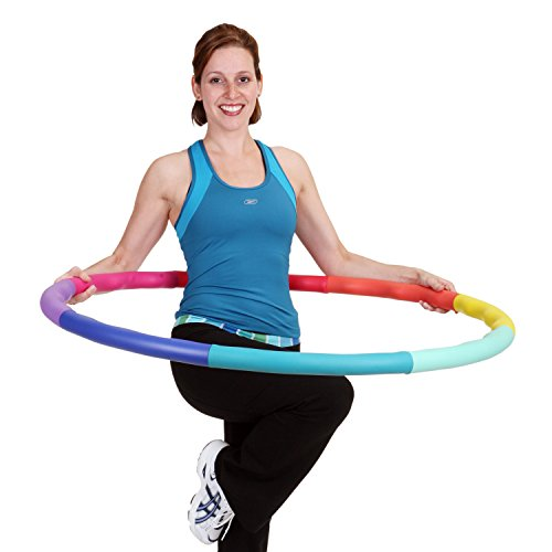 Sports Hoop Weighted Hoop, Weight Loss ACU Hoop 5L - 4.9lb (41.5 inches Wide) Large, Weighted...