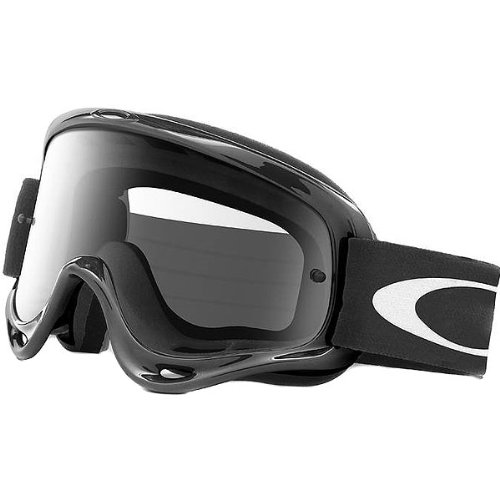 Oakley O-Frame MX Goggles with Clear Lens (Black)