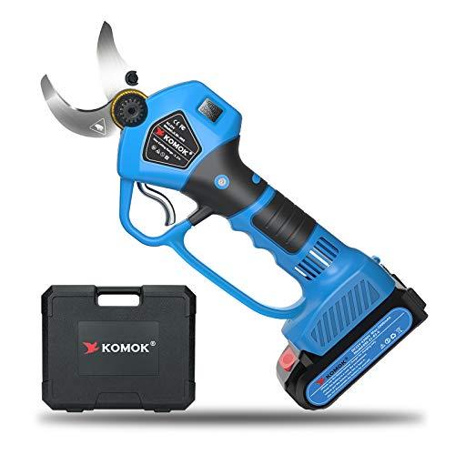 KOMOK Professional Cordless Electric Pruning Shears Secateurs,Smart Garden Orchard Tools,2...