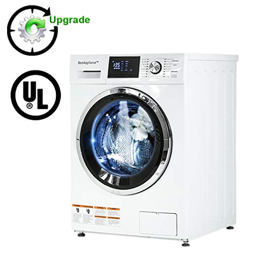 BestAppliance Combination TurboWash 2.7Cubic. ft. Capacity Compact Laundry 24' Electric Dryer and...