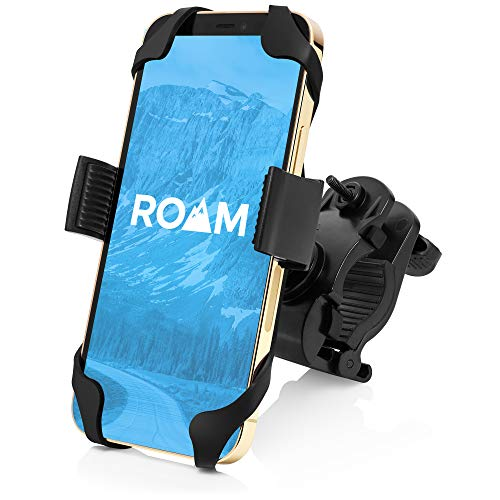 Roam Universal Premium Bike Phone Mount for Motorcycle - Bike Handlebars, Adjustable, Fits iPhone 7...