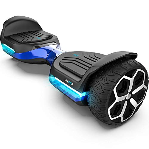 Gyroor T581 Hoverboard 6.5' Off Road All Terrain Hoverboard with Bluetooth Speaker and Two-Wheel...