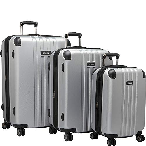 Kenneth Cole Reaction Reverb Hardside 8-Wheel 3-Piece Spinner Luggage Set: 20' Carry-on, 25', 29',...