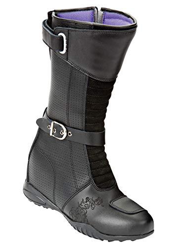 Joe Rocket Heartbreaker Women's Boots (Black, Size 8)