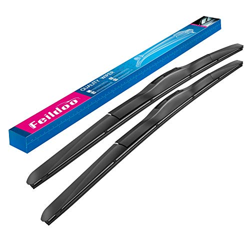 Feildoo Windshield wiper blade Front Window wiper 22' + 18' Winter Summer Wiper Car Windshield wiper...