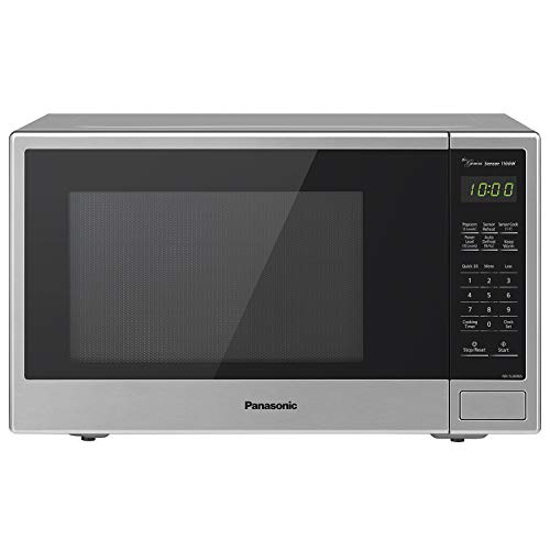 Panasonic NN-SU696S Microwave Oven, 1.3 Cft, Stainless Steel/Silver