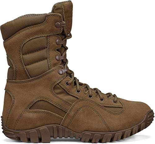 TACTICAL RESEARCH TR Men's Khyber TR550 Hot Weather Lightweight Mountain Hybrid Boot, Coyote - 12 W
