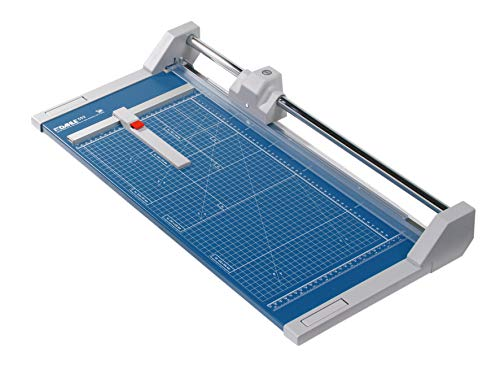 Dahle 552 Professional Rolling Trimmer 20' Cut Length 20 Sheet Capacity Self-Sharpening Automatic...