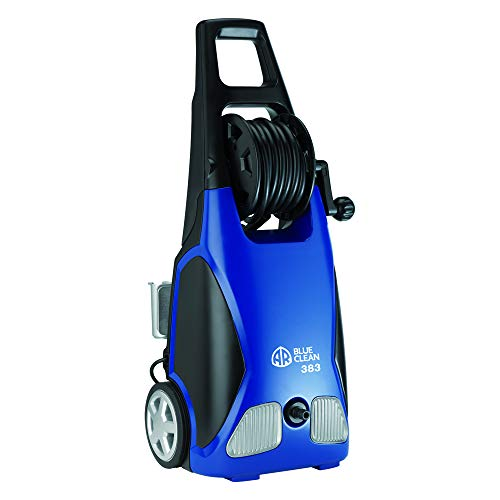 AR Annovi Reverberi Blue Clean, AR383 1,900 PSI Electric Pressure Washer, Nozzles, Spray Gun, Wand,...