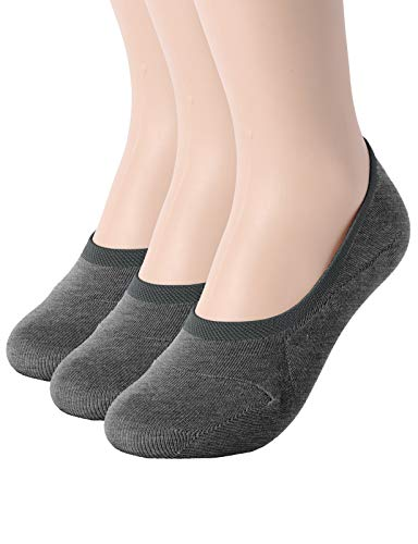 OSABASA Womens 5 Pair Casual No-Show Socks of Hidden Flat Boat Line,KWMS09-5 Pairs-BLACK,Shoe Size...